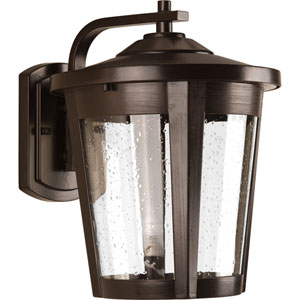 East Haven Antique Bronze LED 10-Inch One-Light Outdoor Wall Sconce