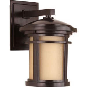 Wish Antique Bronze Seven-Inch One-Light Outdoor Wall Sconce