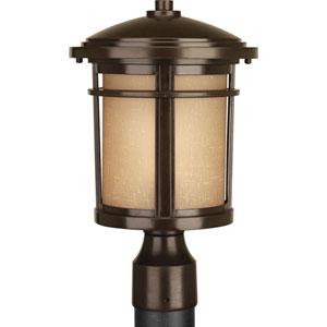 Wish Antique Bronze LED One-Light Outdoor Post Light
