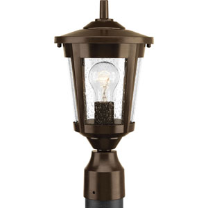 East Haven Antique Bronze One-Light Outdoor Post Light