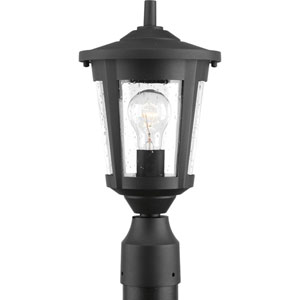 East Haven Black One-Light Outdoor Post Light