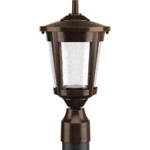 East Haven Antique Bronze LED One-Light Outdoor Post Light
