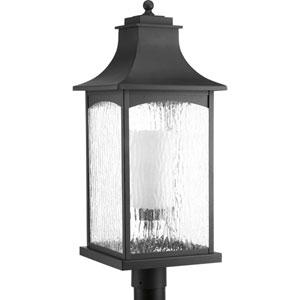 Maison Black One-Light Outdoor Post Light