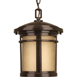 Wish Antique Bronze LED One-Light Outdoor Pendant