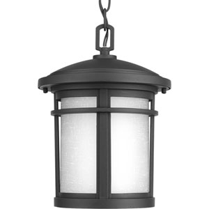 Wish Black One-Light Outdoor Pendant
