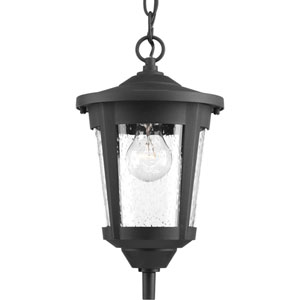 East Haven Black One-Light Outdoor Pendant