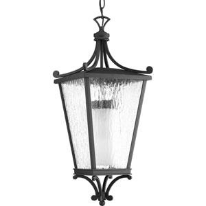 Cadence Black One-Light Outdoor Pendant
