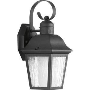 Andover Black Six-Inch One-Light Outdoor Wall Sconce