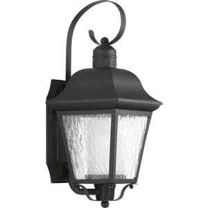 Andover Black Eight-Inch One-Light Outdoor Wall Sconce