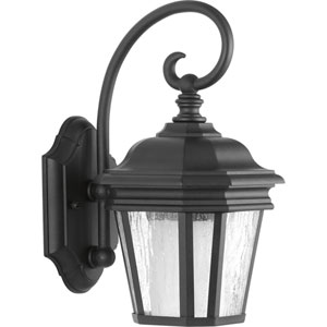 Crawford Black Seven-Inch One-Light Outdoor Wall Sconce