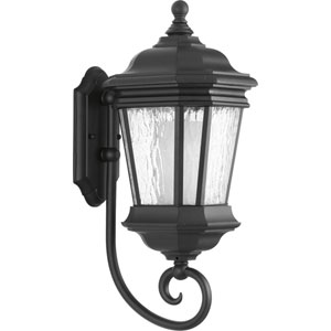 Crawford Black Nine-Inch One-Light Outdoor Wall Sconce