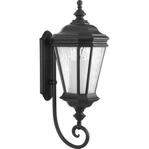 Crawford Black 10-Inch One-Light Outdoor Wall Sconce