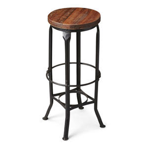 Metalworks Round Bar Stool