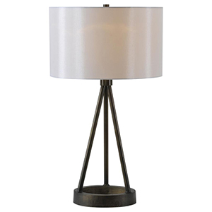 Celia Painted 28-Inch Two Light Table Lamp