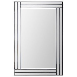 Baton Rouge All Glass 35-Inch Rectangular Mirror