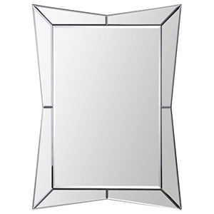 Merritt All Glass 32-Inch Rectangular Mirror