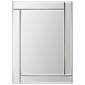 Adan All Glass 32-Inch Rectangular Mirror