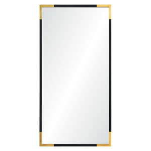 Osmond Gold and Black Rectangular Mirror