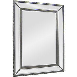 Phoebe Silver 40-Inch Rectangular Mirror