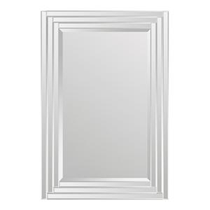 Brynn All Glass 24-Inch Rectangular Mirror