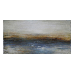 Calm Seas by Charlene Lynch: 57 x 29 Wall Art