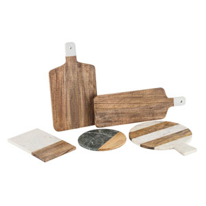 Prep Cutting Boards, Set of Five
