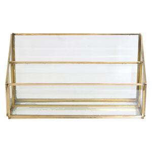 Mavis Golden Tiered Letterstand