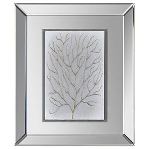 Branching out I Glass 24-Inch Alternative Wall Decor