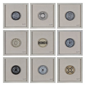 Buttons By Glay: 16-Inch Wall Décor