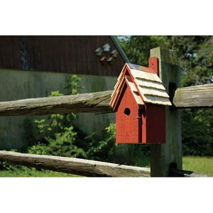 Bluebird Manor Redwood Birdhouse