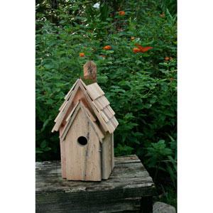 Bluebird Manor Bird House - Blue