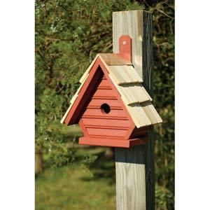 Chick Redwood Birdhouse