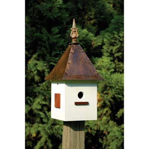 Songbird Suite Antique White Birdhouse