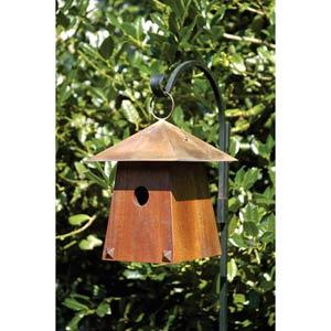 Avian Bungalow Mahogany Birdhouse