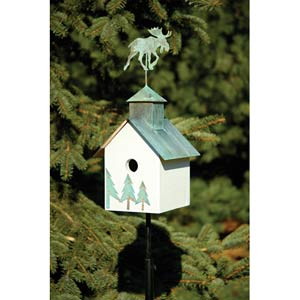 Sleepy Hollow Moose Birdhouse