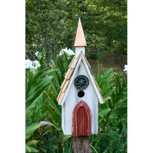 Jubilee Bird House - White