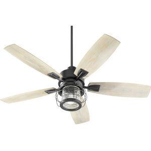 Galveston Black 52-Inch LED Patio Fan