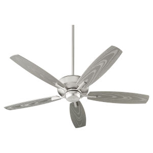 Breeze Patio Satin Nickel Outdoor Fan