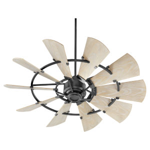 Windmill Noir 52-Inch Outdoor Fan