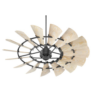 Windmill Noir 60-Inch Outdoor Fan
