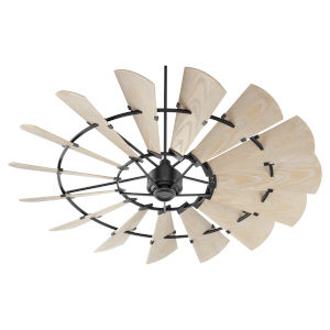 Windmill Noir 72-Inch Outdoor Fan