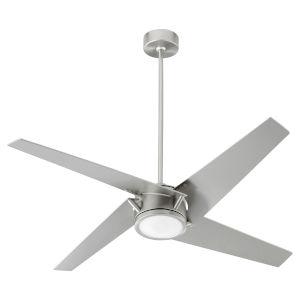 Axis Satin Nickel 54-Inch LED Ceiling Fan
