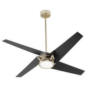 Axis Aged Brass 54-Inch LED Ceiling Fan