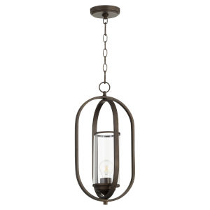 Collins Oiled Bronze 10-Inch One-Light Pendant