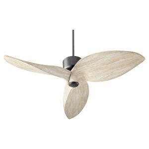 Hawkeye Noir 52-Inch Ceiling Fan