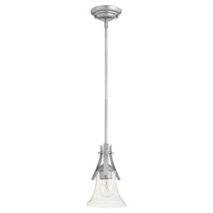Aspen Classic Nickel Six-Inch One-Light Mini Pendant