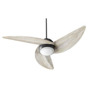 Trinity Noir LED 52-Inch Ceiling Fan
