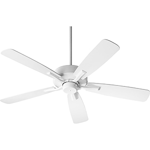 Villa Studio White Ceiling Fan