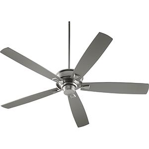 Alton Satin Nickel Ceiling Fan