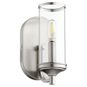 Collins Satin Nickel 15-Inch One-Light Wall Mount